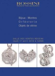 Paris, salle de vente Rossini